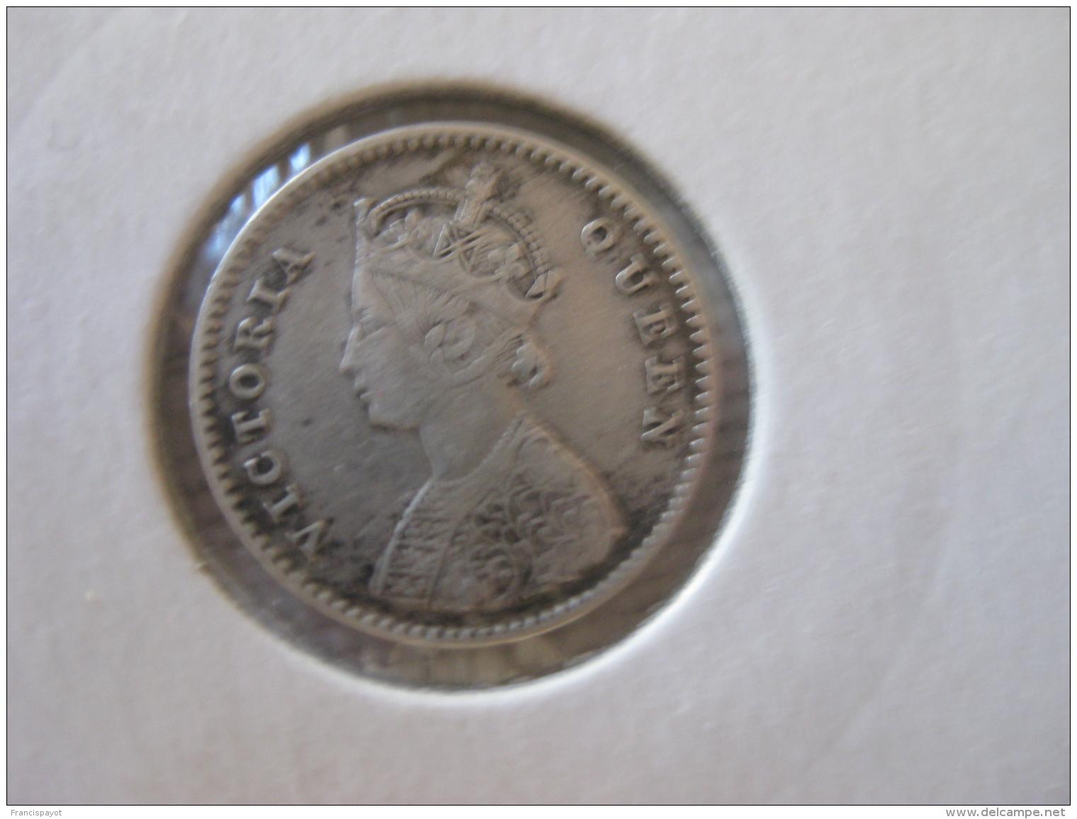 British India 2 Anna 1862 - Inde