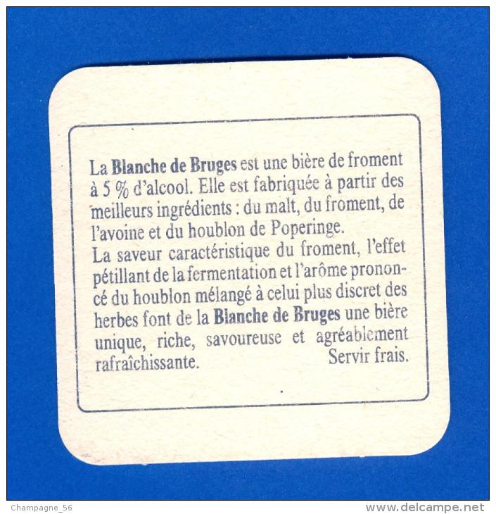 SOUS BOCKS  BLANCHE DE BRUGES  NEUF 2 SCANNE - Sous-bocks