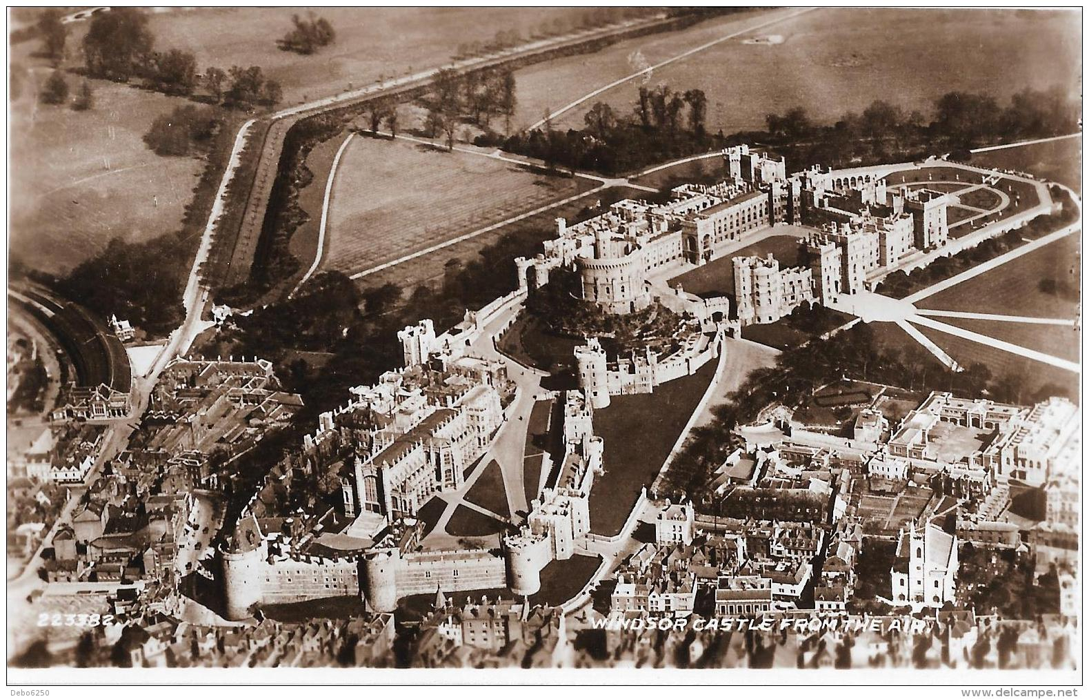 WINDSOR CASTLE From The Air - Otros