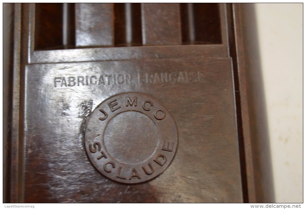 Ancien Repose Pipe Porte Pipe En Bakélite St Claude JEMCO Fabrication Française Années 1950 - 1960. Saint Claude - Pipe Holder
