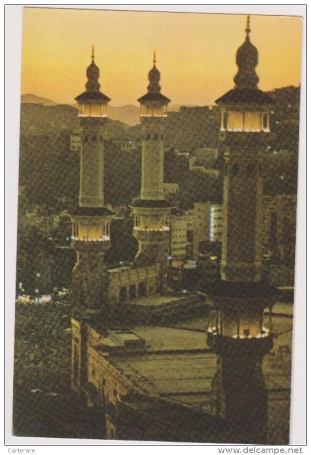 SAUDI ARABIA,ARABIE SAOUDITE,SAUDITA,ARAB EMIRATES,LA MECQUE,HOLY MOSQUE,MECCA,NIGHT,NUIT - Arabie Saoudite
