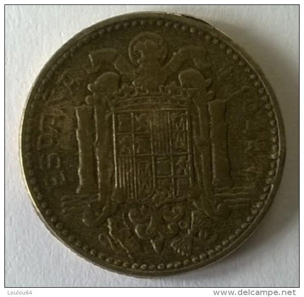 Monnaies - Espagne - 1944 - 1 Peseta - - 1 Peseta