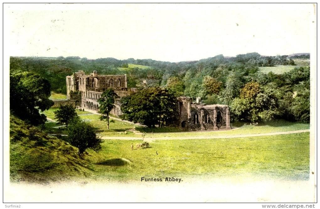 CUMBRIA - BARROW IN FURNESS - ABBEY - TUCKS 1906 Cu1026 - Cumberland/ Westmorland
