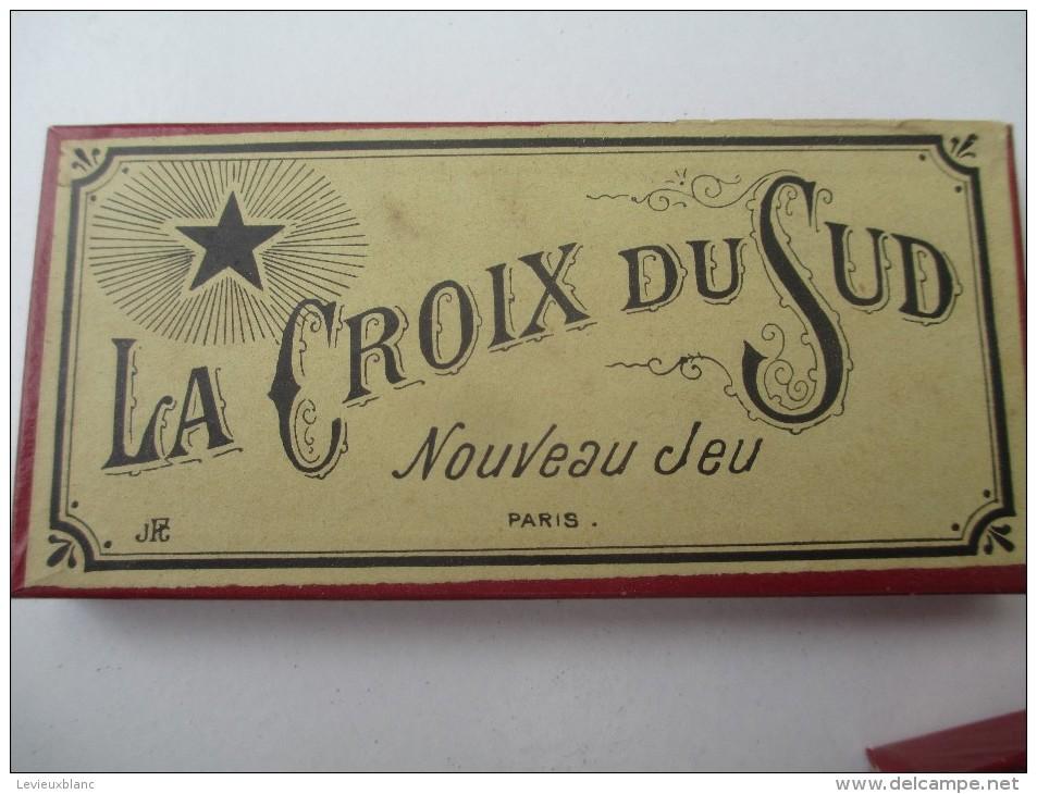 """Jeu Ancien/"""" La Croix Du Sud""""/Casse-tête/J P G /avec Solution/Vers 1880-1900    JE159 - Casse-têtes"""