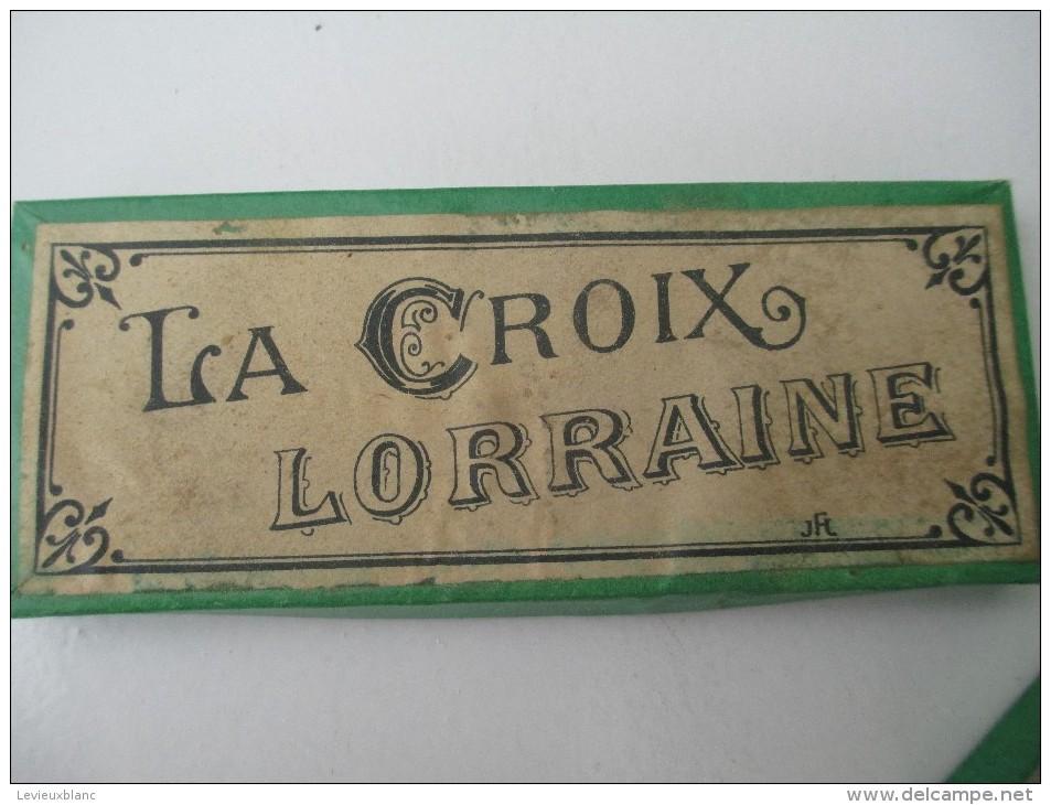 """Jeu Ancien/"""" La Croix Lorraine""""/Casse-tête/J F J /avec Solution/Vers 1880-1900    JE160 - Casse-têtes"""