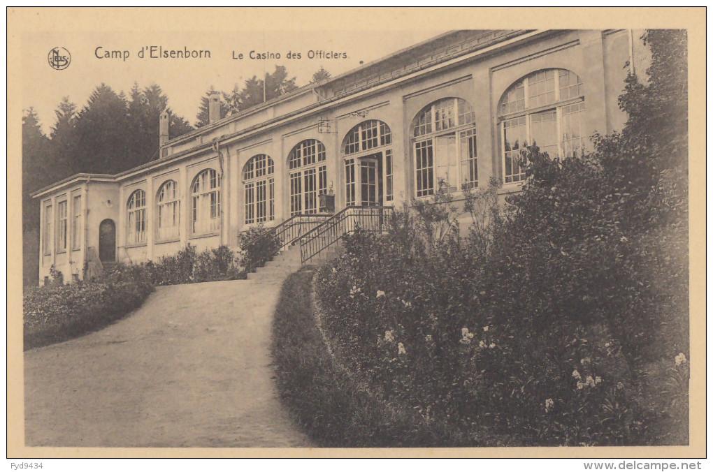 CPA - Le Camp D´Elsenborn - Le Casino Des Officiers - Elsenborn (camp)