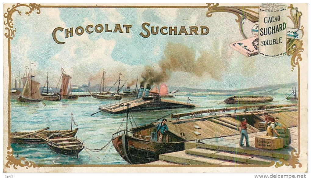 Chromo Chocolat Suchard - Série 119 - N° 9 - Chargement - Suchard