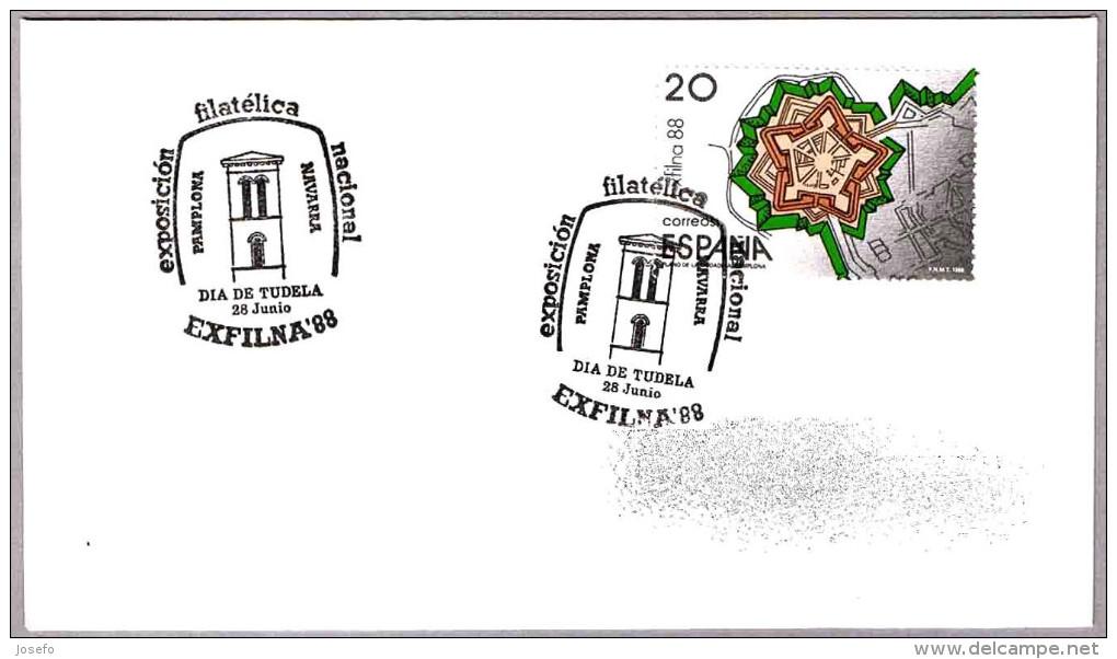 EXFILNA'88. IGLESIA DE LA MADGALENA - TUDELA. Pamplona, Navarra, 1988 - Iglesias Y Catedrales