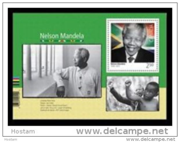 CANADA 2015. 32805,  NELSON MANDELA. Souvenir Sheet Of 2.50 $ Stamp - Blocs-feuillets
