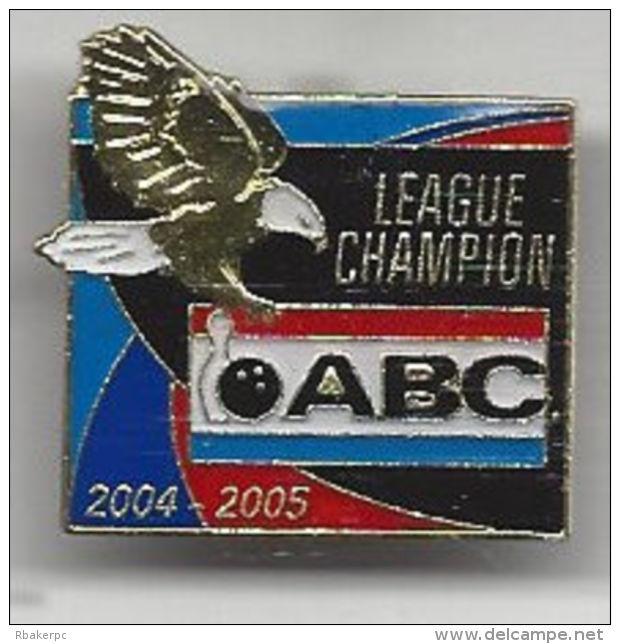 2004-2005 Season ABC League Champions Pin - USA - Bowling