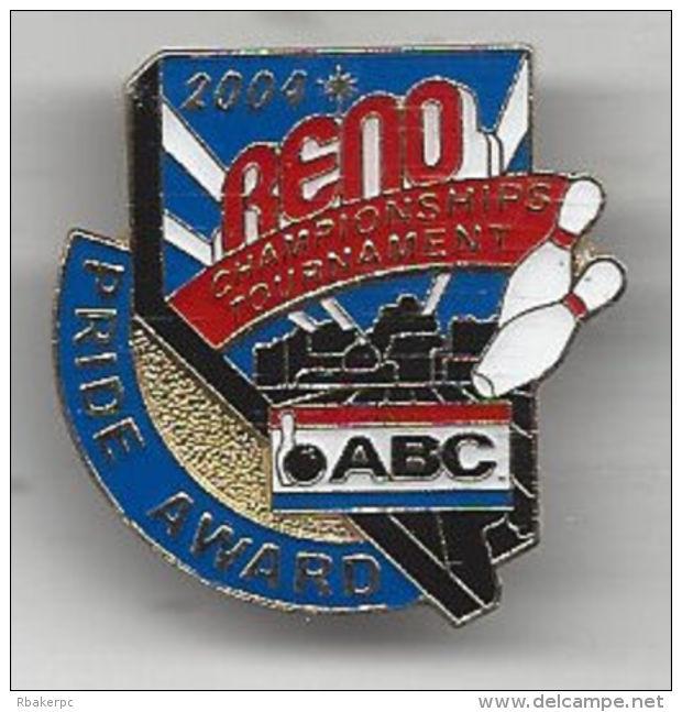 Pride Award Pin - ABC National Championships Tournament 2004 Reno, NV - USA - Bowling