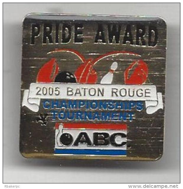 Pride Award Pin - ABC National Championships Tournament 2005 Baton Rouge, LA - USA - Bowling