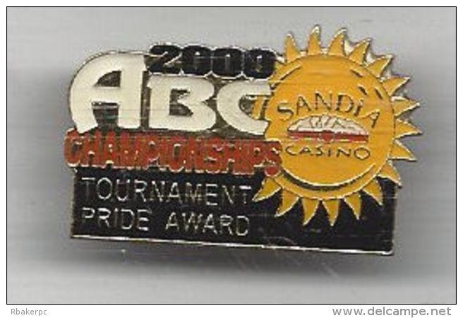 Pride Award Pin - ABC National Championships Tournament 2000 Albuquerque, NM - USA - Bowling