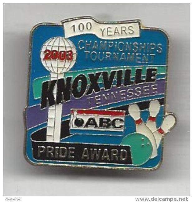Pride Award Pin - ABC National Championships Tournament 2002 Knoxville, TN  - USA - Bowling