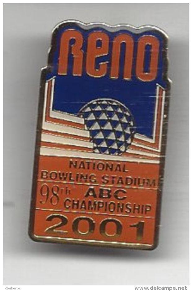 Pin From The ABC National Championships Tournament 2001 Reno, NV  - USA - Bowling