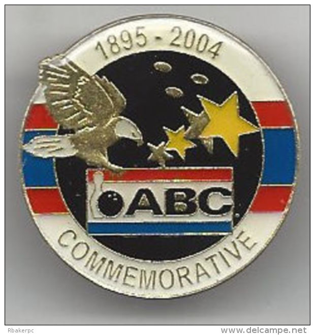 1895-2004 Commemorative Pin From The American Bowling Congress - ABC - USA - Bowling