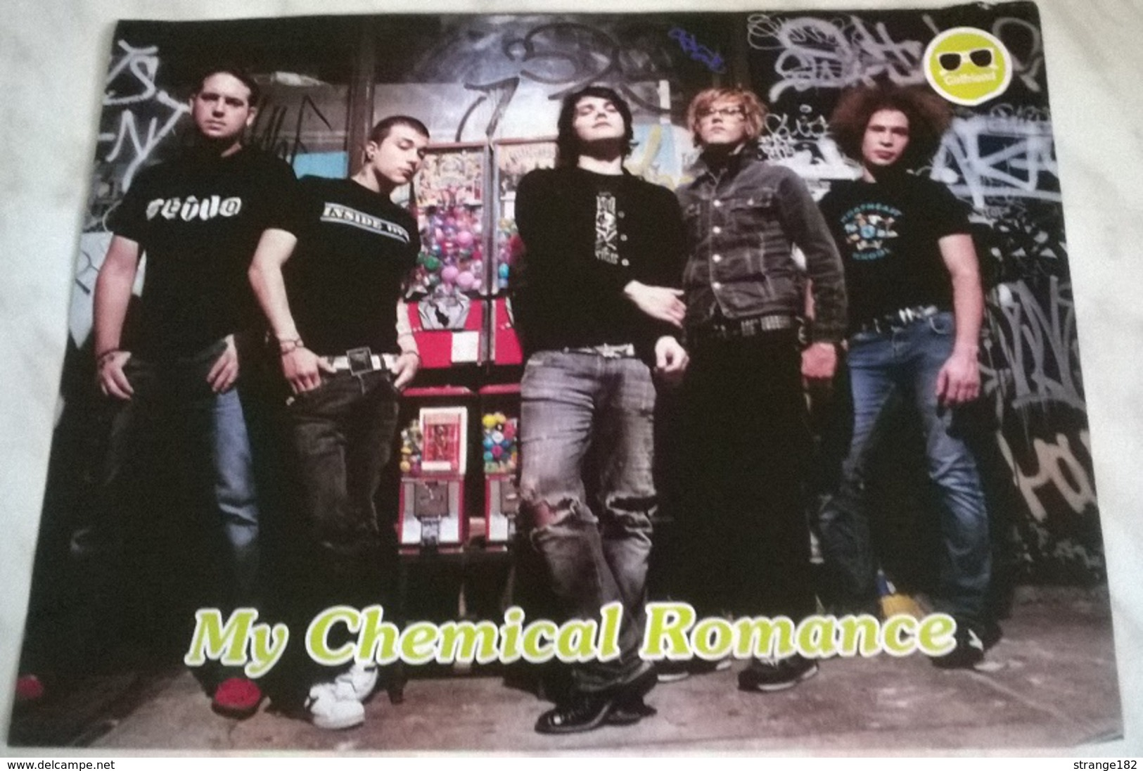 POSTER MY CHEMICAL ROMANCE/SUBSONICA - Manifesti & Poster