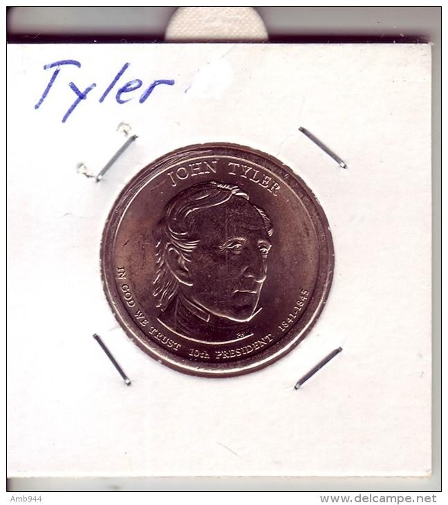 Stati Uniti 2009 - 1 Dollaro Tyler - Zecca P - Federal Issues