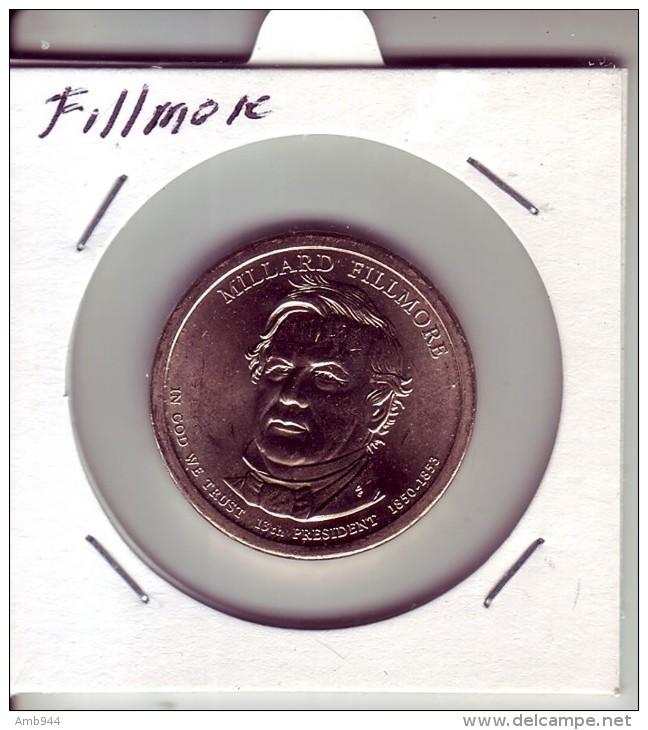 Stati Uniti 2010 - 1 Dollaro Fillmore - Zecca P - Federal Issues