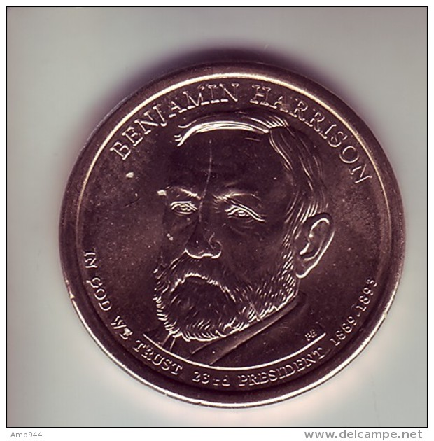 Stati Uniti 2012 - 1 Dollaro B. Harrison - Zecca D - Federal Issues