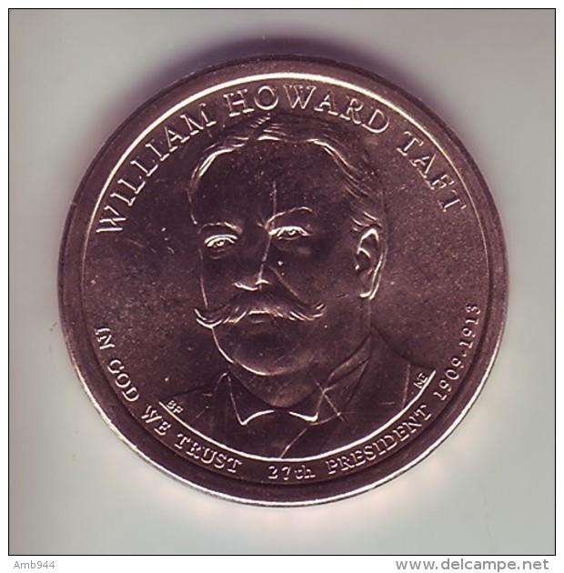 Stati Uniti 2013 - 1 Dollaro Taft - Zecca P - Federal Issues