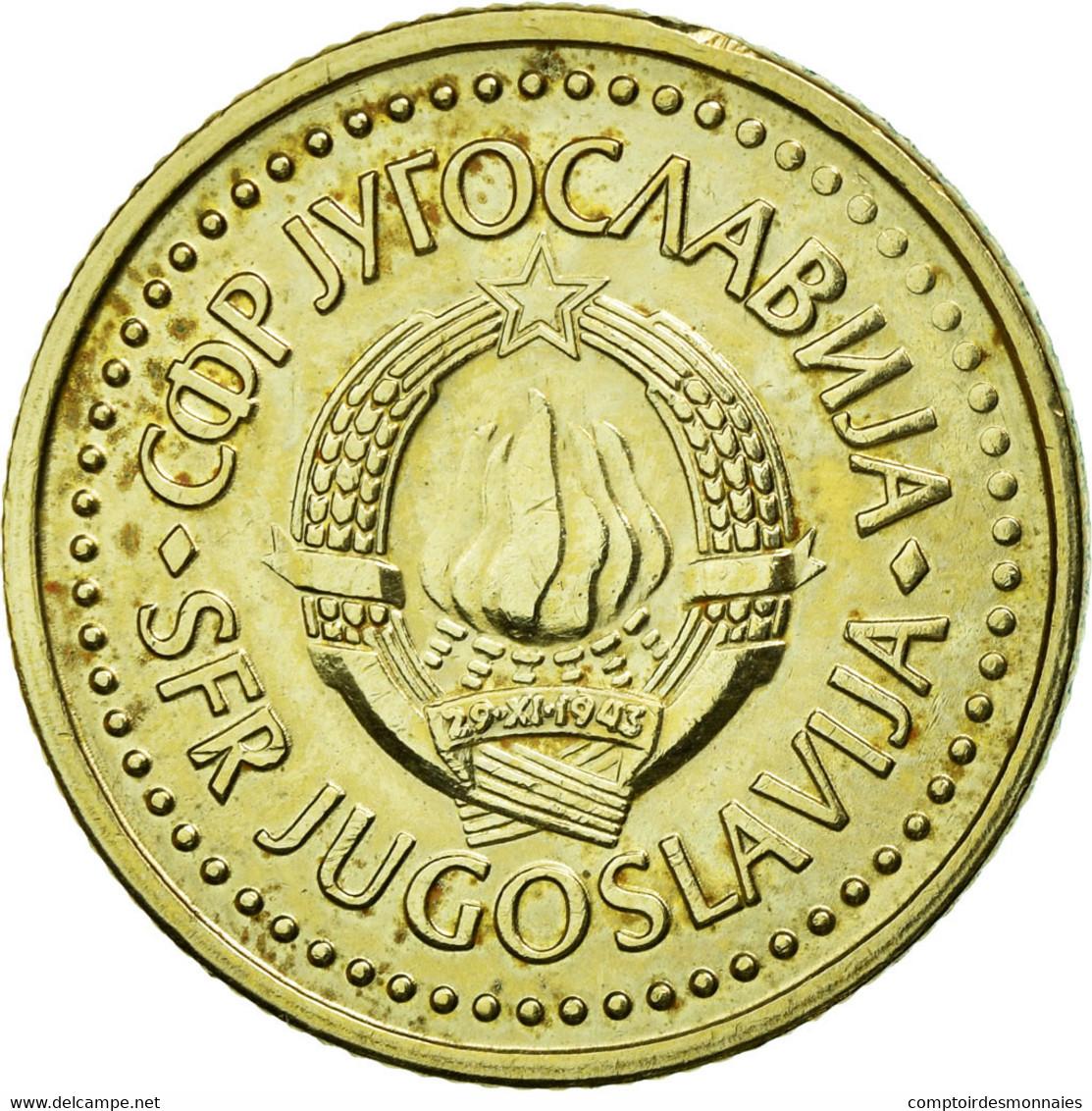 Monnaie, Yougoslavie, Dinar, 1982, TTB+, Nickel-brass, KM:86 - Jugoslawien