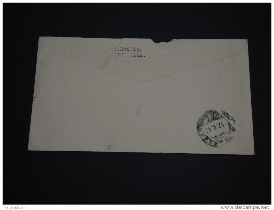 ETHIOPIE - Enveloppe De Dire Dawa Pour Addis Ababa En 1947 , Affranchissement Plaisant - A Voir - L 849 - Ethiopia