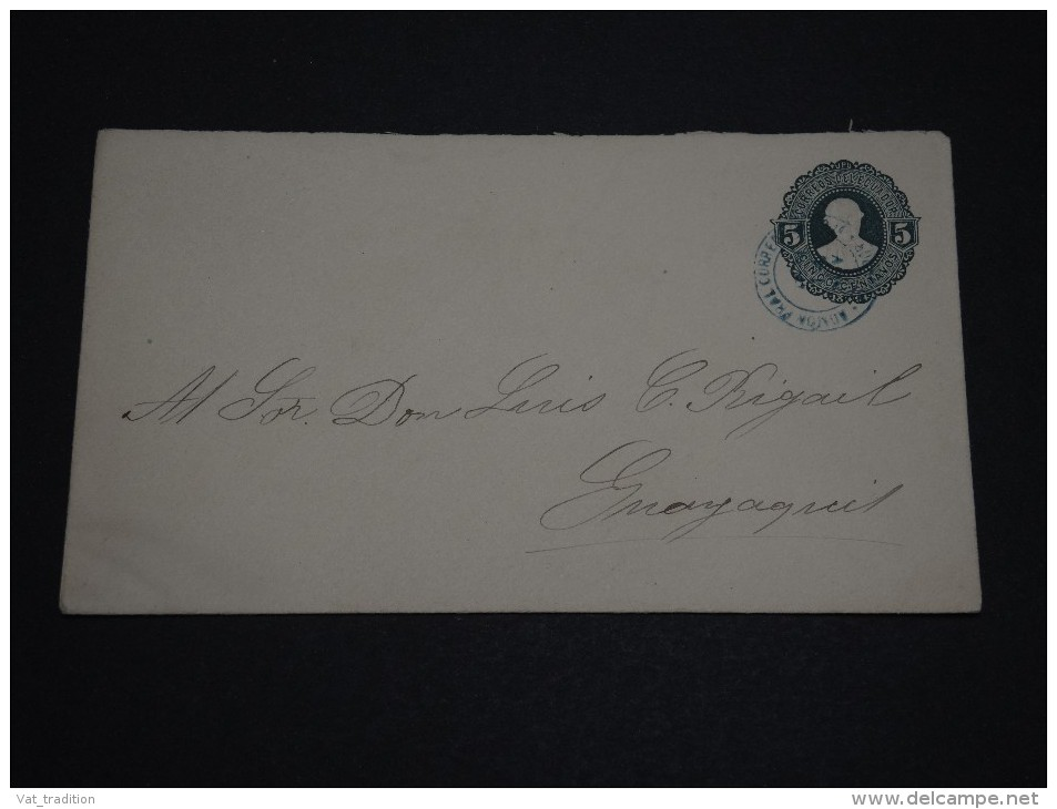 EQUATEUR - Entier Postal Pour Guayaquil  - A Voir - L 857 - Equateur