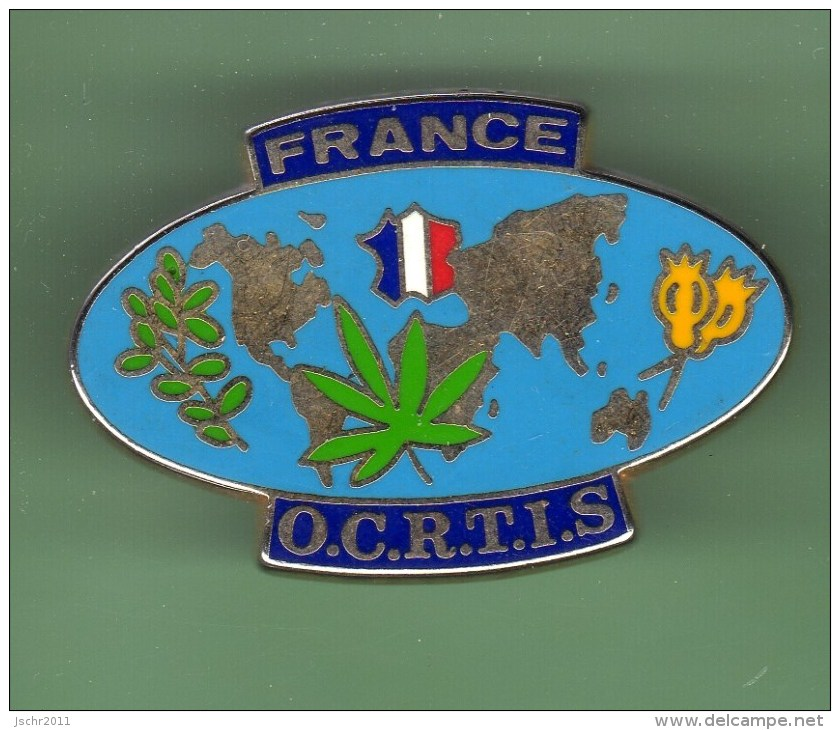 POLICE *** FORT-DE-FRANCE *** O.C.R.T.I.S *** 0014 - Polizia