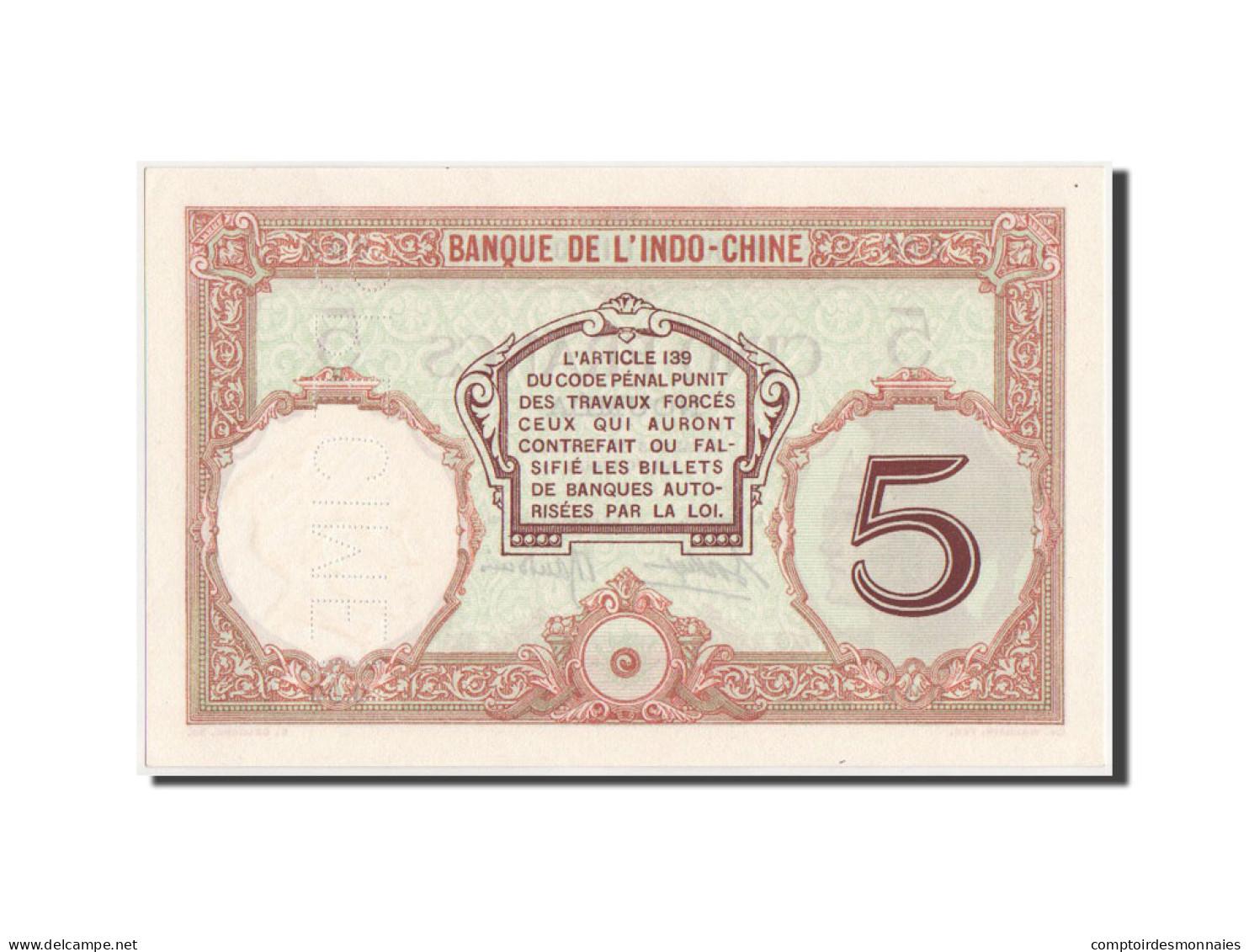 Nouvelle-Calédonie, Nouméa, 5 Francs, 1926, SPECIMEN, KM:36s - Nouméa (New Caledonia 1873-1985)