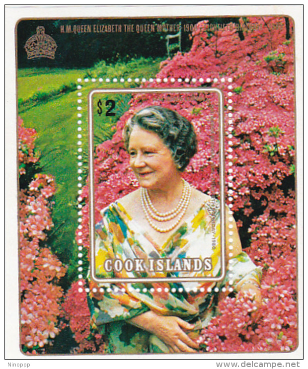 Cook Islands SG MS702 1980 80th Birthday Of The Queen Mother Miniature Sheet MNH - Cook