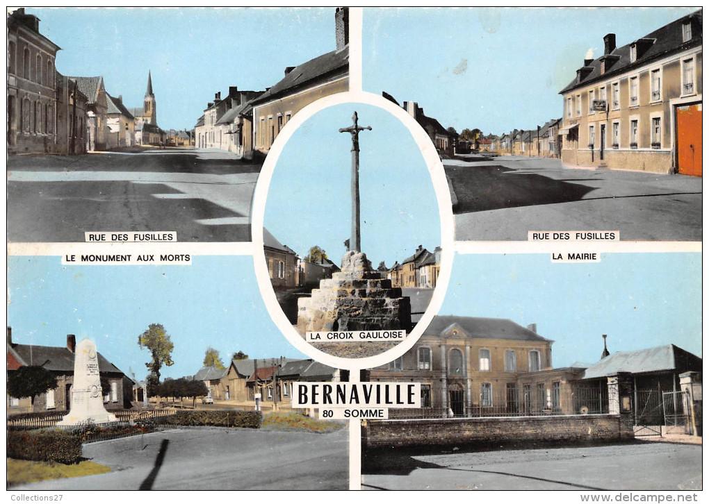 80- BERNAVILLE - MULTIVUE - Autres Communes