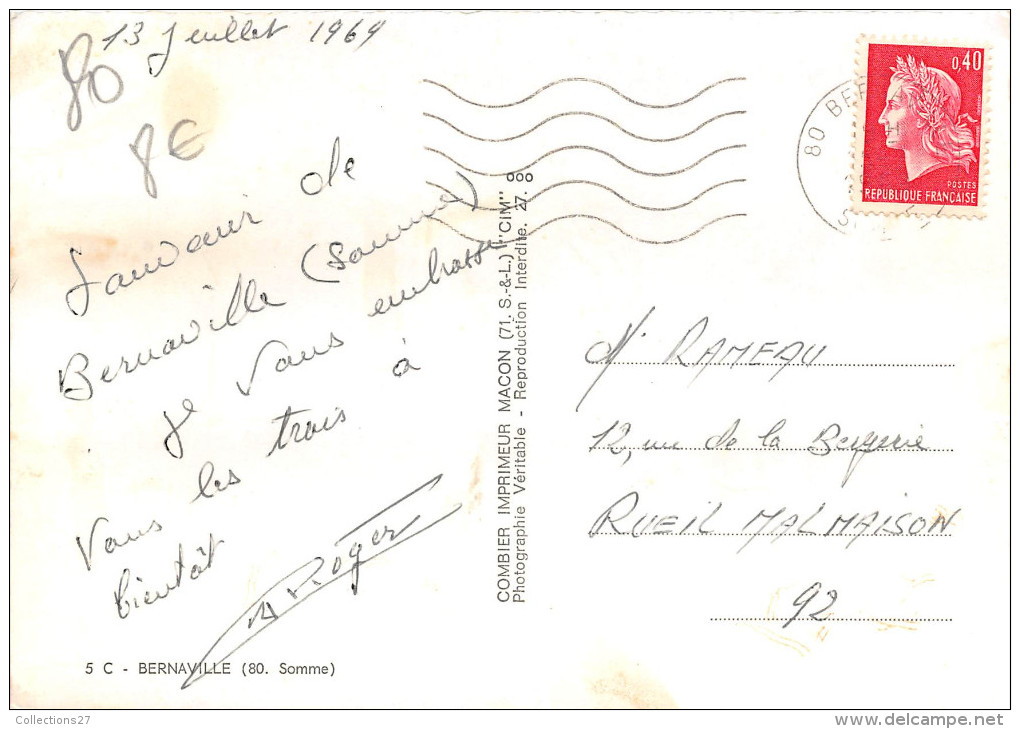 80- BERNAVILLE - MULTIVUE - France
