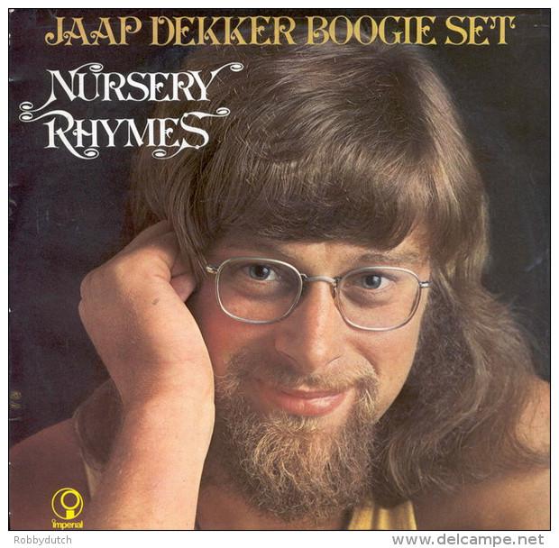 * LP *  JAAP DEKKER BOOGIE SET - NURSERY RHYMES (Holland 1972) - Instrumental