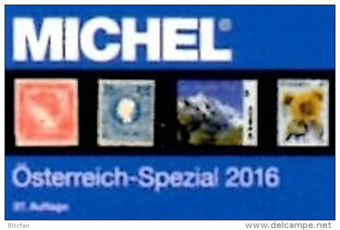 Spezial Katalog 2016 MICHEL Briefmarken Österreich Neu 64€ Bosnien Lombardei Venetien Special Catalogue Stamp Of Austria - Alte Papiere