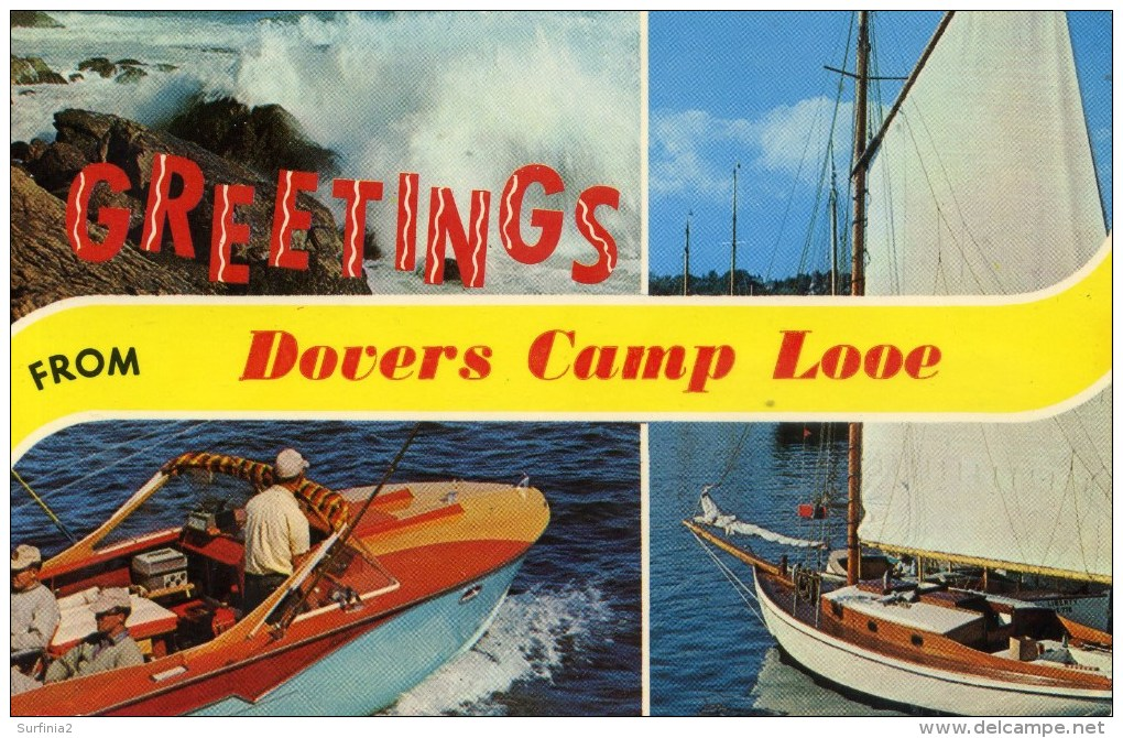 CORNWALL - LOOE - DOVERS CAMP Co639 - Other