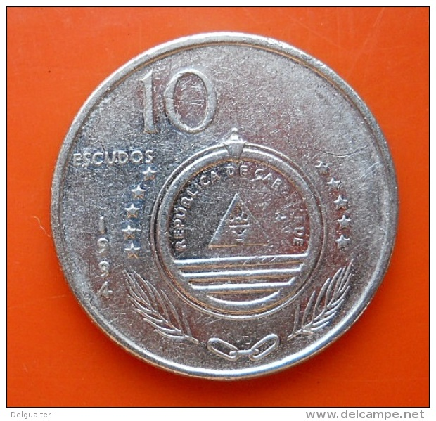 Cape Verde 10 Escudos 1994 - Cap Vert