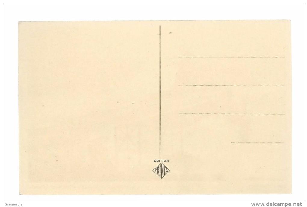 BIARRITZ..PASSERELLE/ROCHER VIERGE JOUR DE TEMPETE..PRINTA  N° 425.ASSEZ  RARE.VERS1950.. ETAT /BON - Biarritz