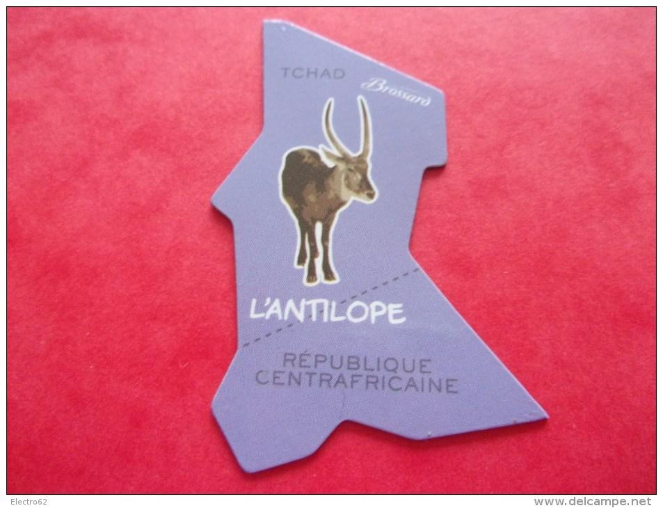Magnet Brossard Antilope, Tchad République Centrafricaine - Animaux & Faune