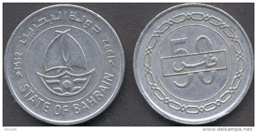 Bahrain 50 Fils 1992 VF - State Of Bahrain - Bahrein