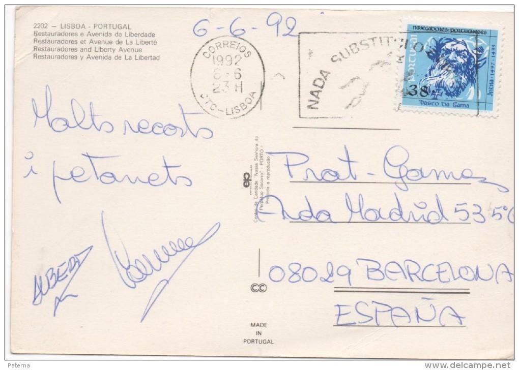 3048   Postal  Lisboa , 1992 Portugal - 1910-... República
