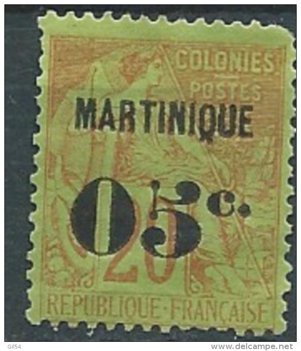 Martinique   - Yvert N°4(*)   Dent Courte - Abc0420 - Martinique (1886-1947)