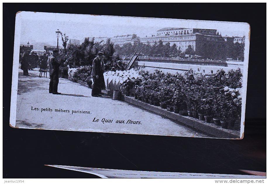 PARIS LE QUAI DES FLERUS - Petits Métiers à Paris