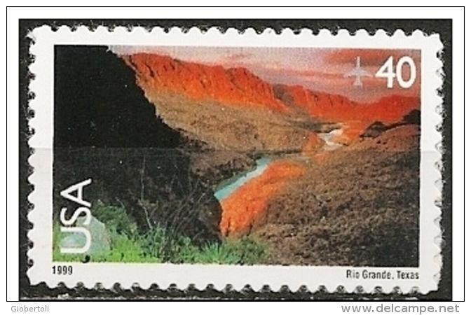 Stati Uniti/États-Unis/United States: Fiume Rio Grande, Rivière Rio Grande, Rio Grande River - Geography