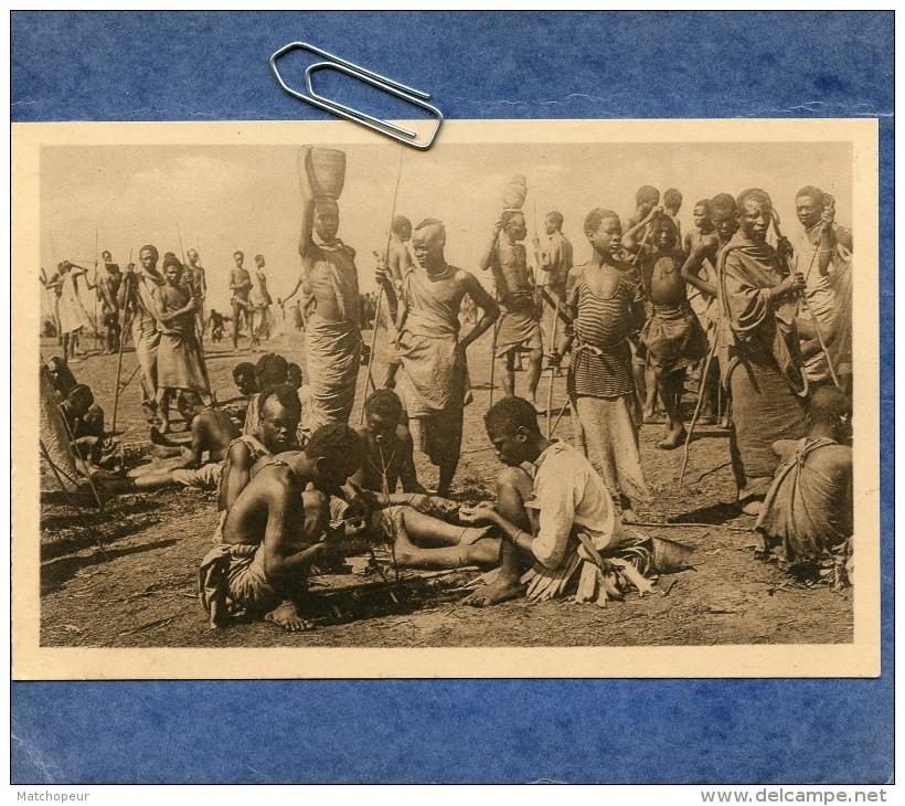 RUANDA - MARCHE FABRICANTS DE BRACELETS - Ruanda-Urundi