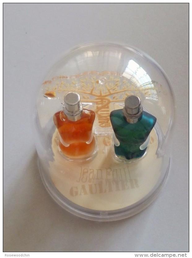 LIMITED Edition  !   2006 Jean Paul Gaultier Valentine's Miniature Set (Apple Tree) - Miniaturen Damendüfte (mit Verpackung)