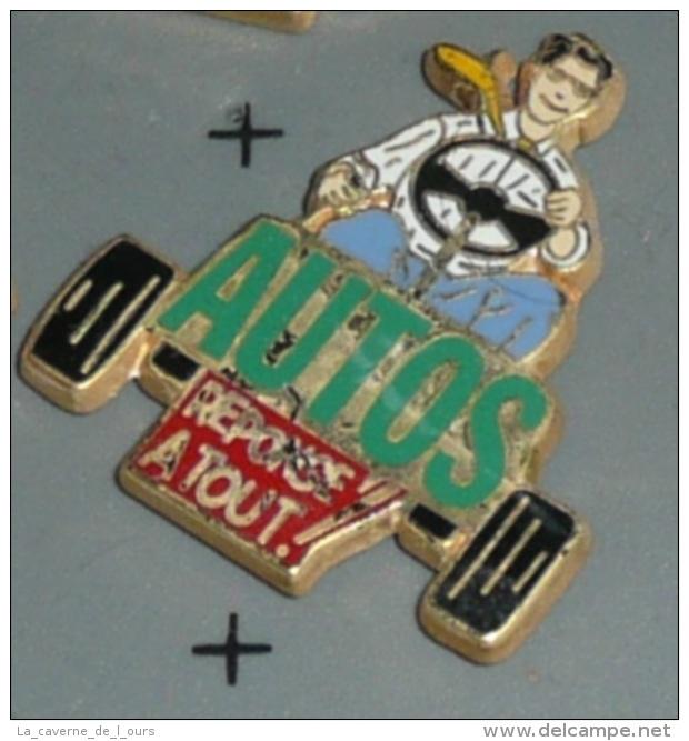 Rare Pin's En Métal émaillé, REPONSE A TOUT ! Doré à L'Or Fin, Edition Limitée, Ballard, Autos Automobile Auto Voiture - Mass Media