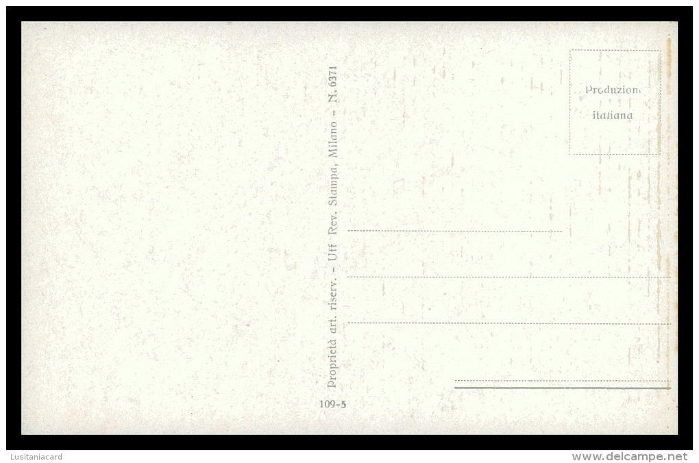 ITALIA - ILUSTRADORES -« A. Simeone» (6 POSTAIS) ( Ed.Revista Stampa 109-1 A 109-6) Carte Postale - Illustrators & Photographers