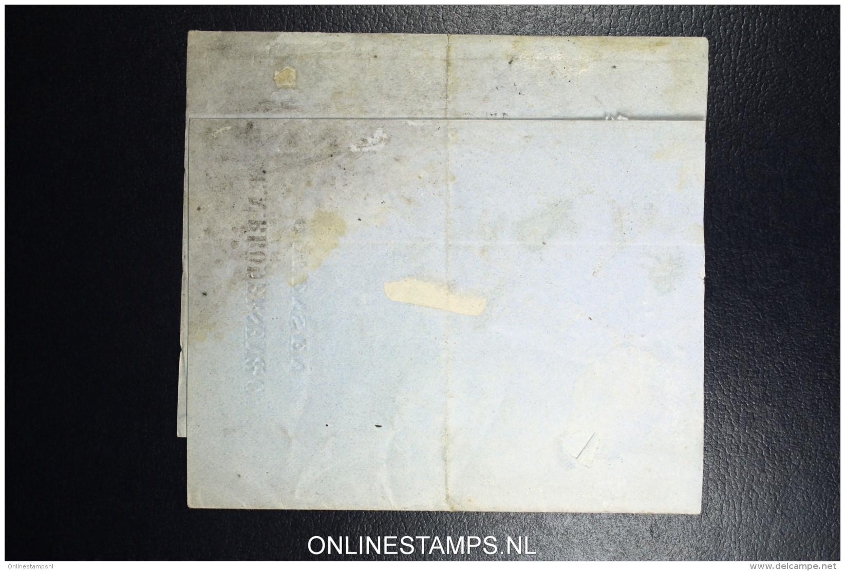 Denmark  Part Letter 1857 Holstenske Vb Post Sp Bureau Van Ottensen To Segeberg  Fa Nr 4 - 1851-63 (Frederik VII)