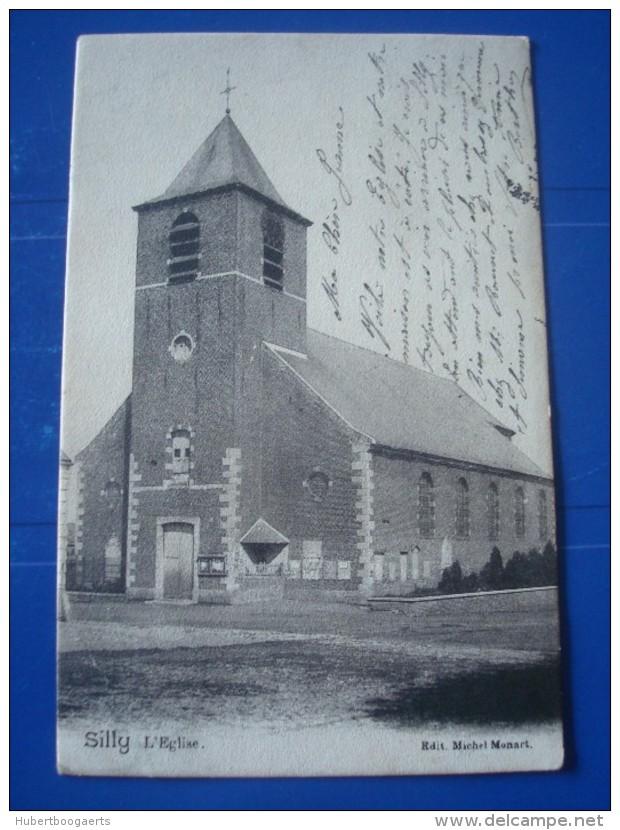 SILLY : L'église En 1904 - Silly